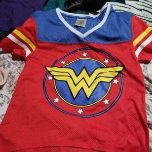 Wonder woman jersey top